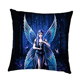 Enchantment Gothic Faerie Fairy Cushion By Anne Stokes
