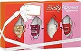 Sally Hansen Complete Salon Manicure Nagellack Mini Set 1, Fools Gold, Let's Snow, Red My Lips, Wine Not