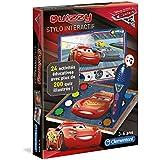 Clementoni - 52226-Quizzy Cars 3-Jeu éducatif