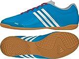 adidas , Herren Futsalschuhe, Mehrfarbig - Azul / Blanco / Rojo - Größe: 40