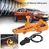 Zerone Car Electric Jack, 12V DC 3T(6600lb) Electric Lifting Jack, Automotive Car Electric