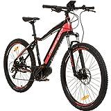 REMINGTON MXPRO MTB E-Bike Mountainbike Pedelec Mittelmotor, Farbe:rot