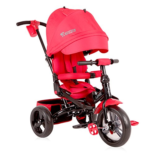 Lorelli Jaguar Dreirad, mitwachsend, für Kleinkind/Kinder, rot