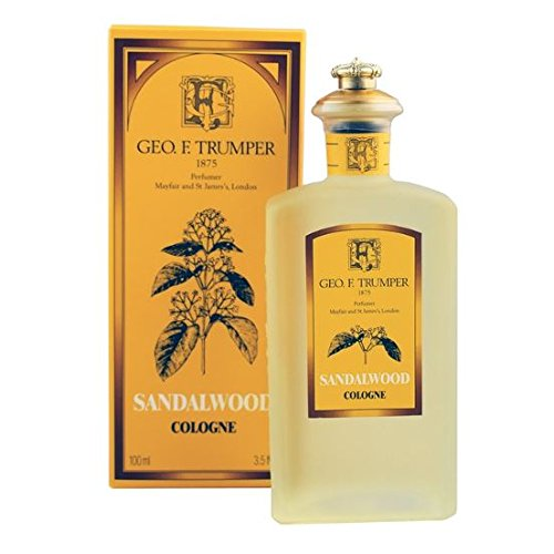 Geo F Trumper Sandalwood Cologne (100ml, Glass Splash Bottle) -