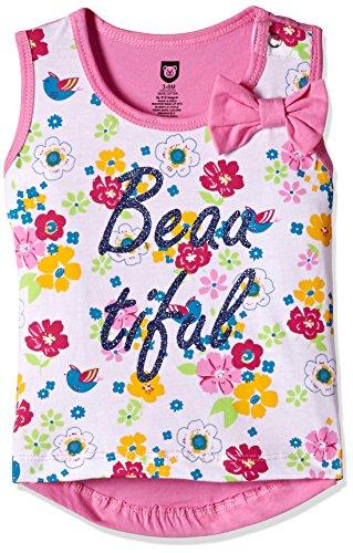 612 League Baby Girls' T-Shirt (ILS00S780017D-6 - 12 Months-WHITE)