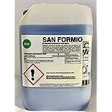 Elios - SAN FORMIO detergente igienizzante profumato per superfici dure ad esclusivo uso professionale con azione filmante antibatterica, forte azione e profumazione per superfici lavabili: pavimenti,