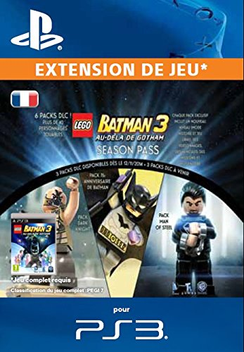 LEGO Batman 3: Beyond Gotham Season Pass - PS3 [Code Jeu]