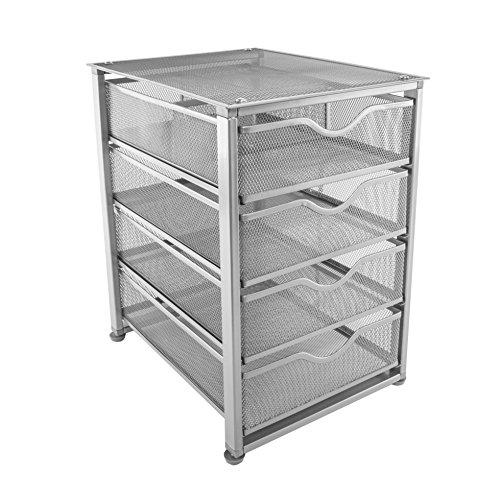 full size in conjunction plus of drawer wire closet basket with drawers mesh