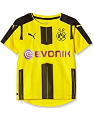 PUMA Kinder Trikot BVB Home Replica Shirt with Sponsor Logo
