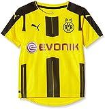 Puma Unisex-Kinder Heimtrikot BVB Replica, Gelb (Cyber Yellow/Black), 176, 749828 01
