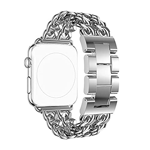 For Apple Watch Strap 38MM, Rosa Schleife iWatch Band 38mm
