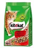 Kitekat Katzenfutter Rind und Gemüse, 5 Packungen (5 x 900...
