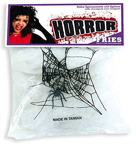 ko Spinnennetz mit Spinne Dekoration Party gruselig - 1St ()