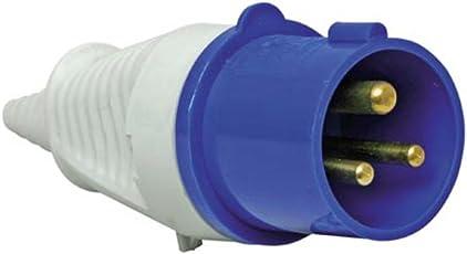 Sibass 16A 3 Pin Plug - IP44