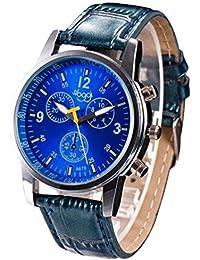 Ba Zha Hei-Relojes de pulsera de lujo del reloj de imitación de cuero del