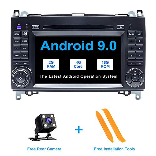 ZLTOOPAI Android 9.0 autoradio für Mercedes Benz Sprinter b200 Viano vito w639 w169 w245 w209 doppel din autoradio GPS Navigation Auto GPS Media Player unterstützung Bildschirm Spiegel WiFi