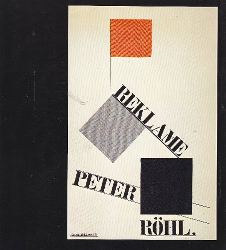 Karl Peter Rohl. Bauhaus Weimar