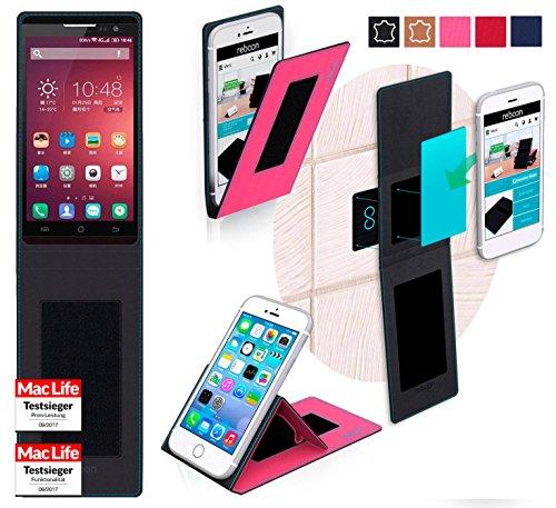 reboon Hülle für Jiayu F2 Tasche Cover Case Bumper | Pink | Testsieger