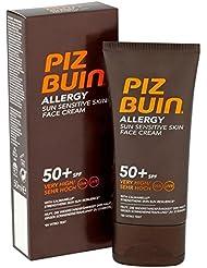 Piz Buin Allergie Gesichtscreme Lsf 50 + 50Ml (Packung mit 2)