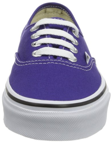 Vans U AUTHENTIC (WASHED) BLACK VVOE4JT Unisex-Erwachsene Sneaker Violett (deep wisteria/true white)