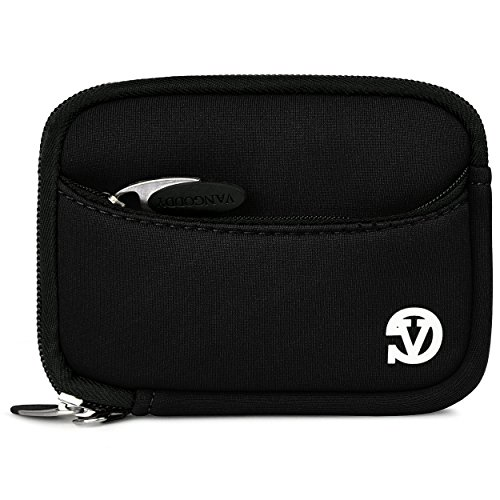 Vangoddy Mini Glove Sleeve Pouch Case For Nikon Coolpix P340, P330, P310, P300, P5000 Point & Shoot Digital Cameras (Black) (AD_CAMLEA631_CAM:14:VGLV010)  available at amazon for Rs.1393