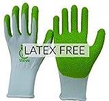 Steve Latex Handschuhe gratis für kompressionsstrumpfes Anwendung. Hilfe für an- und Ausziehhilfe