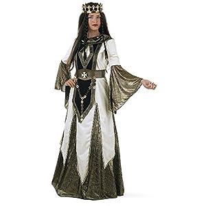 Limit Sport - Disfraz medieval de reina de las cruzadas, para adultos, talla L (DA103)