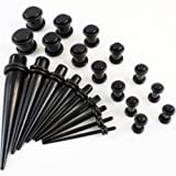 Cascove Full Kit Ear Taper Kit Ear Plug Set Taper Stretching Expanders Tapers Stretchers Bild