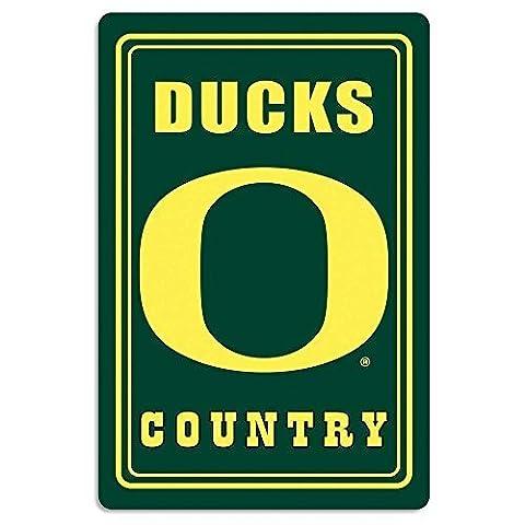 NCAA Oregon Ducks Metal Sign, 12