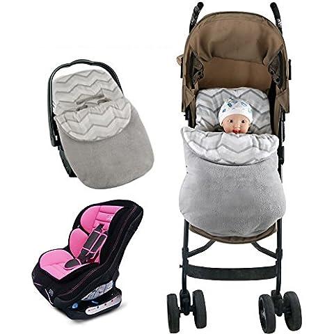 Vine Saco de invierno dormir térmico para carrito silla de bebé universal abrigo Manta para envolver al bebé para el asiento del bebé en el coche Saco
