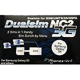 2-phones-in-1 2in1-nc2s4 Adapter NC2 für Samsung Galaxy S4 Dual Sim preiswert