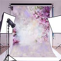 Bureze 5x7ft Dreamlike Flowers Baby Photography Backgrounds Vinyl Photo Shoot Backdrops