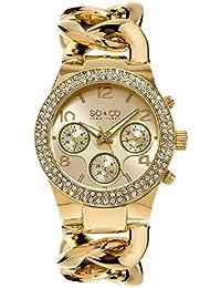 So y Co para mujer de Nueva York reloj infantil de cuarzo con diseño de  rayas de dorado esfera analógica y dorado… c8853feb231