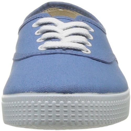 Victoria Inglesa Lona, Baskets mode mixte adulte Bleu (36 Azul)