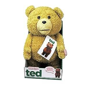 Ted Parlant - édition spéciale (Bouche qui fonctione) L'ours en peluche qui parle (UK IMPORT en Anglais)- Officiel du Film TED de Seth MacFarlane - 40 cm