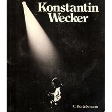 Das Konstantin Wecker- Buch