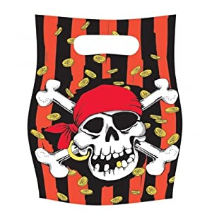 Amscan Jolly Roger Party Bags