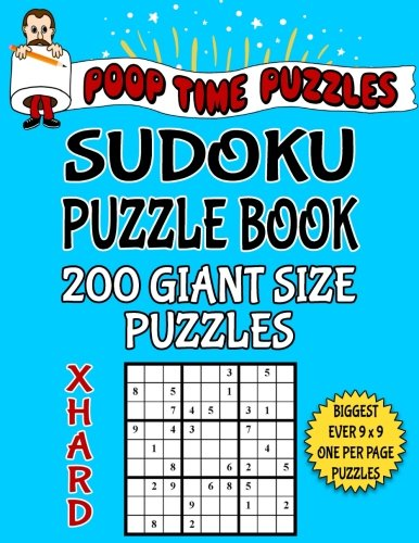 poop-time-puzzles-sudoku-puzzle-book-200-extra-hard-giant-size-puzzles-one-gigantic-puzzle-per-lette