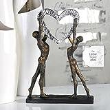 Casablanca - Skulptur, Objekt, Figur, Dekofigur - Victory Sieg der Liebe - Poly - Höhe: 37 cm