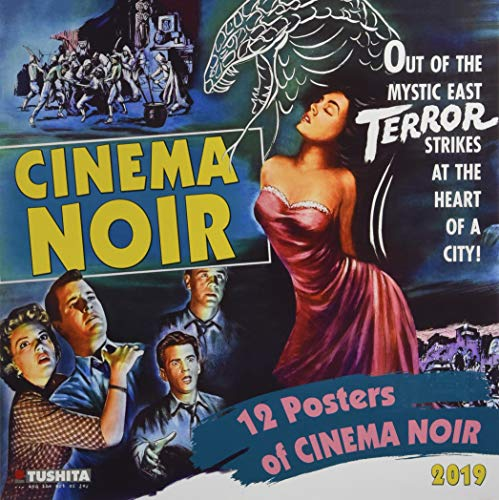 Cinema Noir 2019: Kalender 2019 (Media Illustration) - Film Kalender