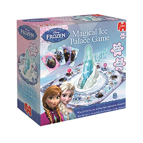 Disney Jumbo Games Frozen Magical Ice Palace Board Game
