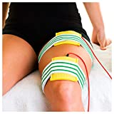 Elastische Fixierbandage Bandage Fixierverband mit Klettverschluss, 120x10 cm