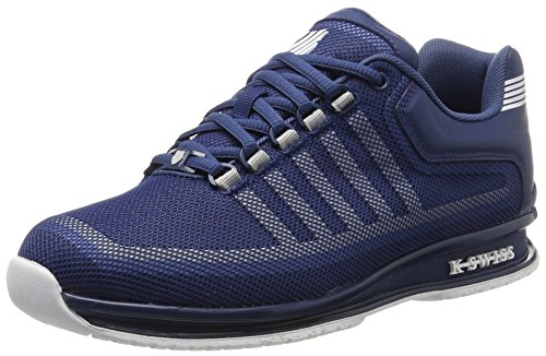 K-Swiss Herren Rinzler Trainer Sneaker, Blau (Ensign Blue/Allure/White), 42 EU (Herren-trainer Blau)