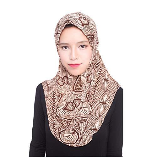 Yalatan - Hijab Kopftuch für muslimische Frauen I Islamische Kopfbedeckung Islam Solide Weiche Maxi Schal - Mailbox Die Der Besten