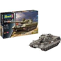 Revell 03258–Maqueta de Tanque 1: 35–Leopard 1A1en Escala 1: 35, Niveles 4, orgin Algas fidelidad imitación con Muchos Detalles de