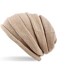 Distressed Bonnet tricoté