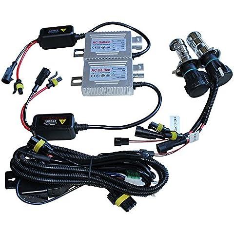 Generic H4–3Hi/Lo Bi-xenon HID Kit di conversione 6000K AC 55W