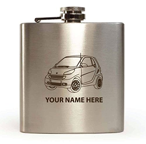 smart-fortwo-design-personalised-6oz-hip-flask-with-gift-box-funnel