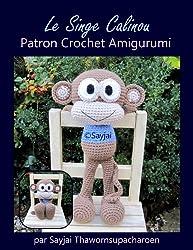 Le Singe Calinou Patron Crochet Amigurumi