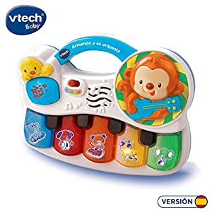 VTech - Armando y su orquesta, juguete para bebé, color blanco (3480-150822)
